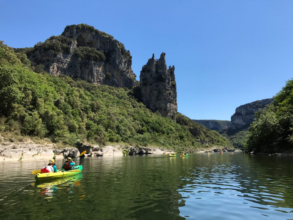 Canoe immersion – The Gorges in 2 days