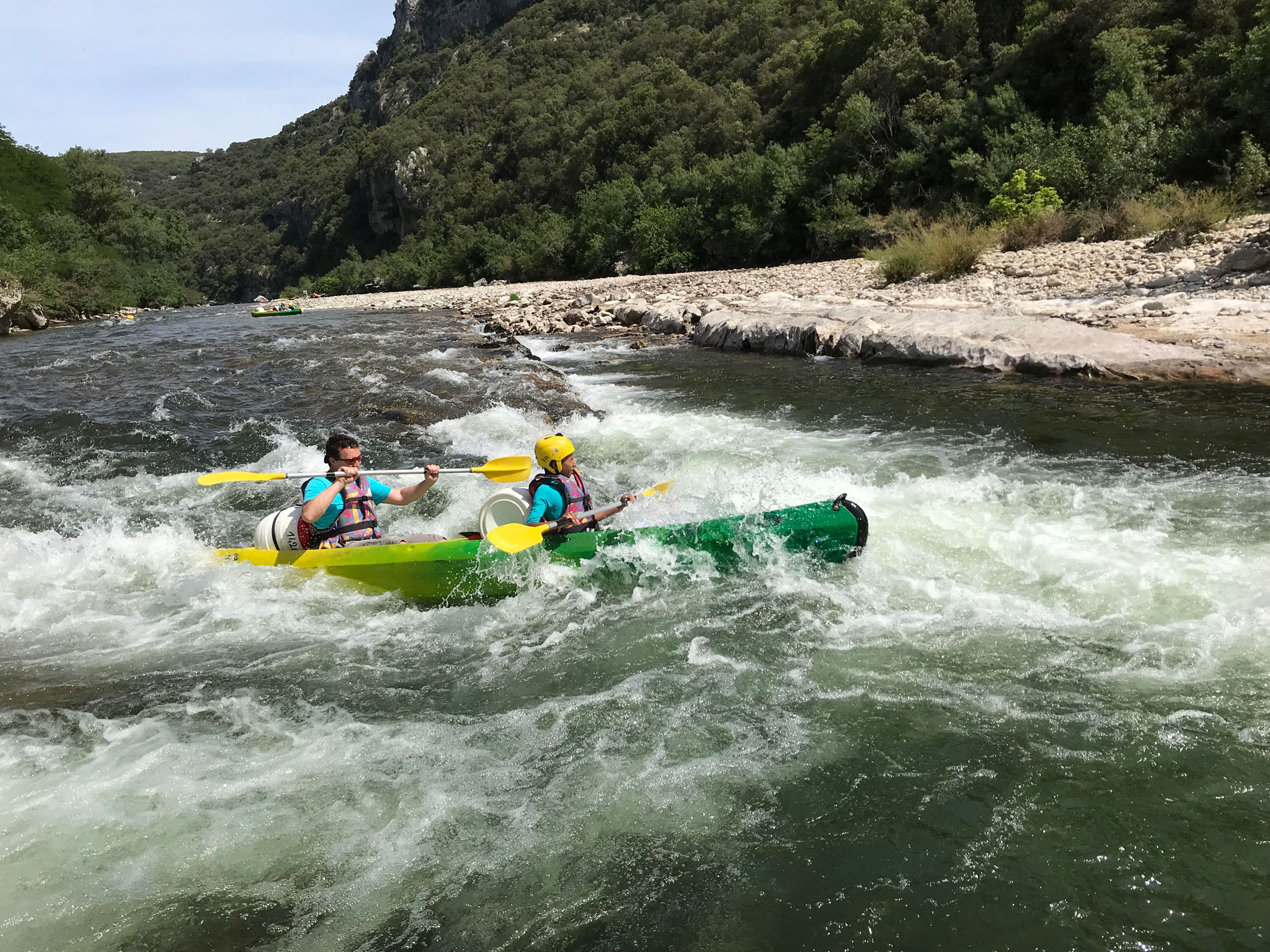 Sportif canoe – The Gorges in one day