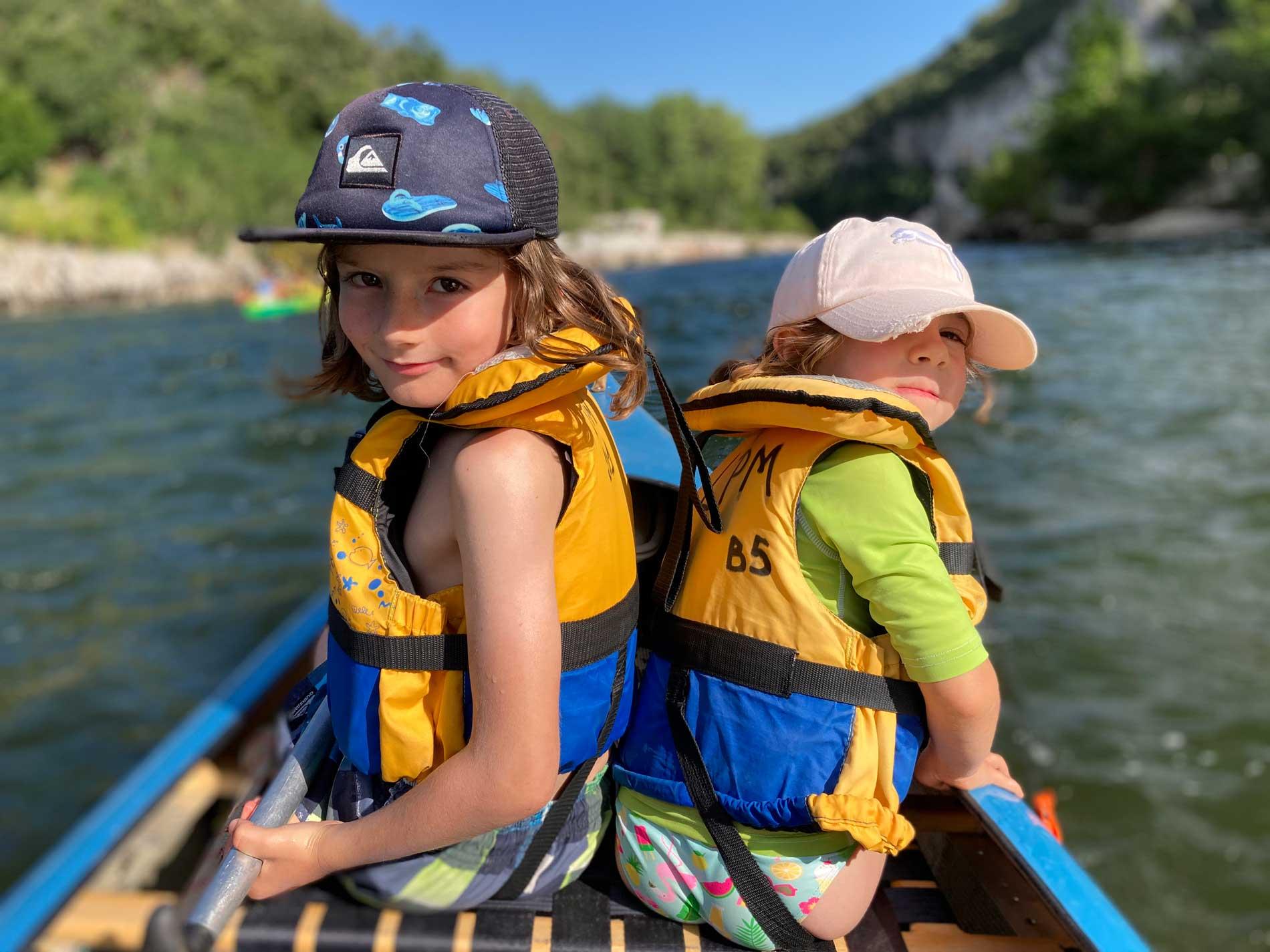 Guided morning canoe trip
