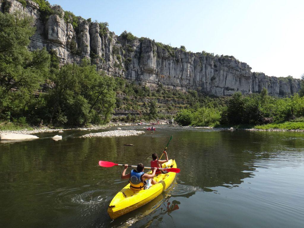 Canoë découverte – le Pont d'Arc à la journée