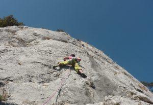 Climbing Ardèche