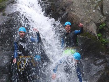 Stage 100% canyoning