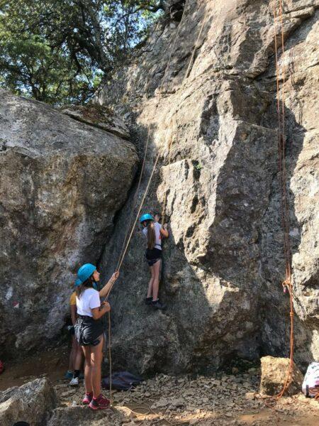 Climbing Ardeche